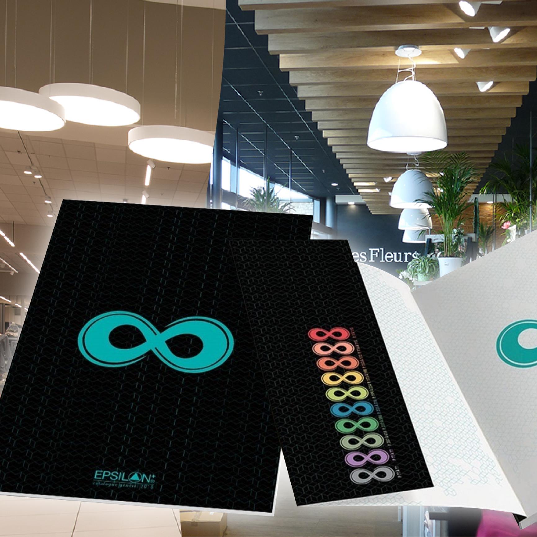 INTEGRAL,<br />2 nouvelles réalisations,<br /> 1 nouveau catalogue<br /> 100% LED !